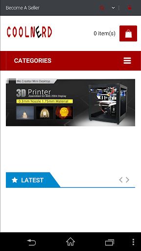 CoolNerd 3D Print Marketplace