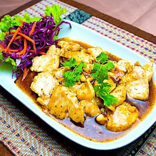Thai Garlic Pepper Chicken Recipes.