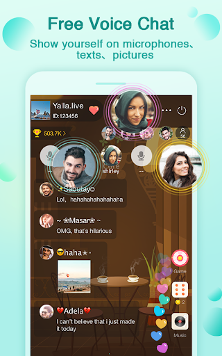 Yalla-Free Voice Chat Rooms  screenshots 3