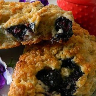 Whole-Grain Blueberry Scones.