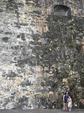 Photo: A big wall at El Morro!