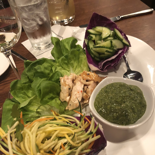 Thai spring wrap appetizer.