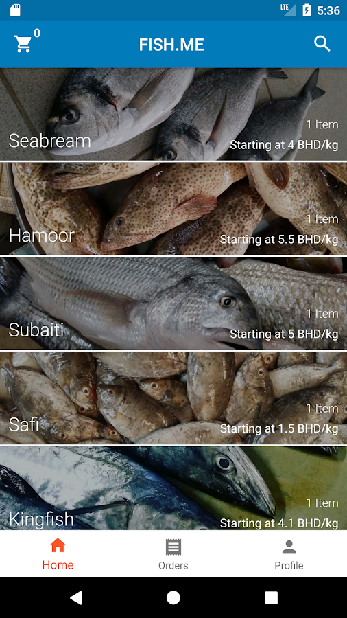 Fish.me- screenshot