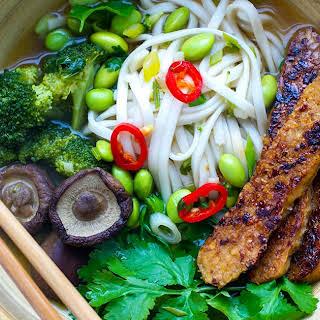 Vegan Instant Pot Udon Soup.