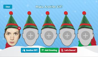 Screenshot of ElfYourself by Office Depot