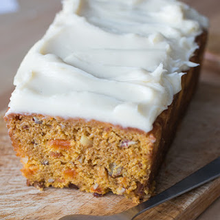 Sweet Potato and Apricot Cake.