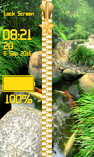Zen Garden Zipper Lock Screen- screenshot thumbnail