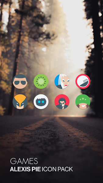 Alexis Pie Icon Pack Screenshot Image