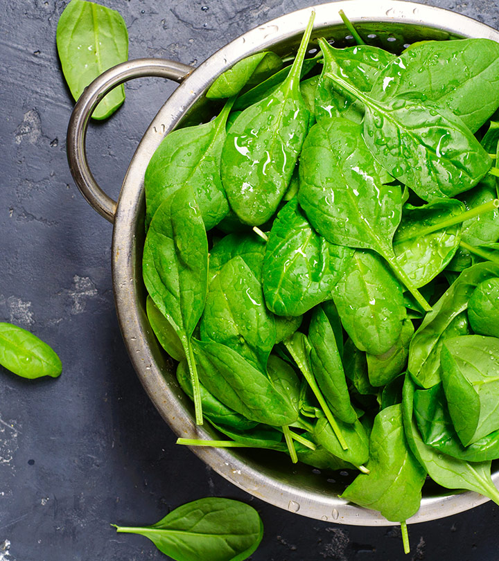 Greens that are rich in supplements for healthy hair growth