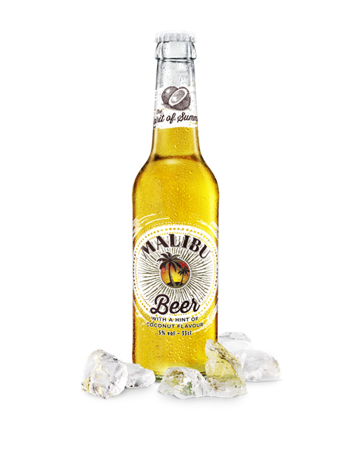 Logo of Malibu Coconut Lager