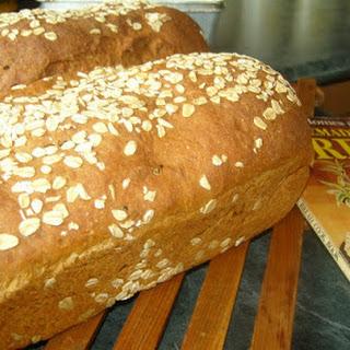 Grandma's Rustic Oatmeal Bread