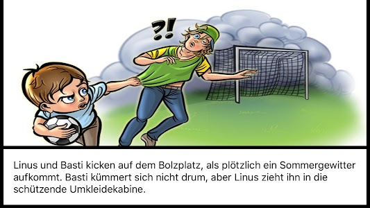 Donner-Wetter! Comic screenshot 2
