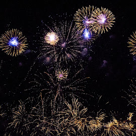 by Helen Andrews - Abstract Fire & Fireworks