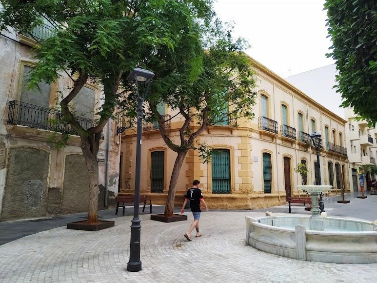 Vista General de Plaza Granero