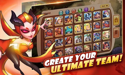 Idle Heroes MOD Apk 1.11.0 (Unlimited Gems) 9