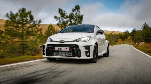 Toyota GR Yaris nacido del WRC