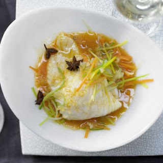 Steamed Turbot.