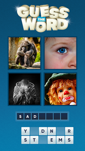 Guess the Word. Word Games Puzzle. What's the word 1.22 4