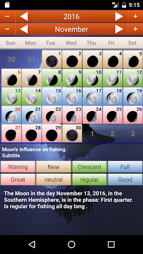 Biodynamic Lunar Calendar  screenshots 5