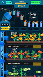 Idle Fish Aquarium Mod Apk (Unlimited Money) 2