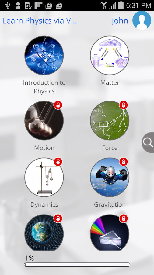 Learn Physics via Videos- screenshot