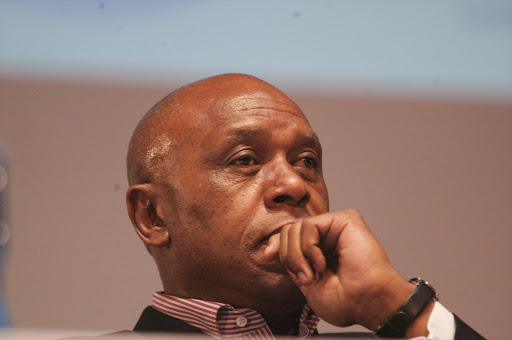 LOOKING UP: Ophir's Tokyo Sexwale says exploration is the tip of the iceberg in terms of his larger plans. Pic: MUNTU VILAKAZI. 07/06/2007. © Sunday Times. Tokyo Sexwale addressed the public about why he's going to enter the presidentian race in December, as he has been asked by some members of the ANC.This took place at the Wits University