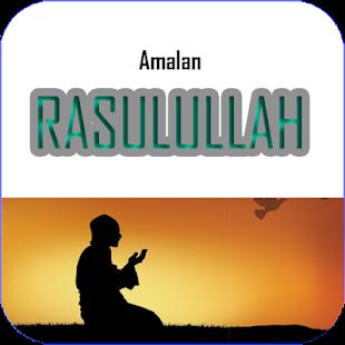 Amalan Amalan Rasululaah SAW - náhled
