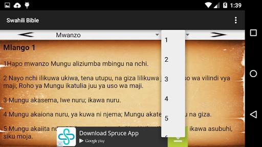 Swahili Bible(Biblia Takatifu)  screenshots 4