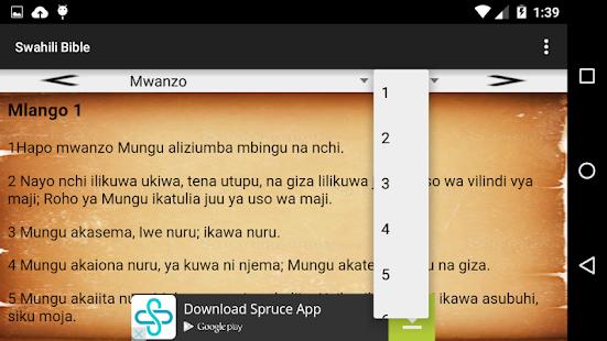 Download Swahili Bible Biblia Takatifu 1 0 Apk For Android