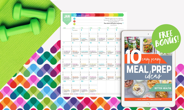 Wholefully Wellness Calendar