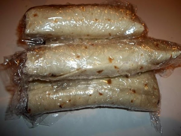 Trim ends and wrap each in plastic wrap and place back in refrigerator until...