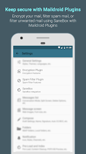 MailDroid - Free Email App- screenshot thumbnail