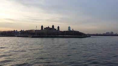 Photo: Ellis Island (from the Zephyr)