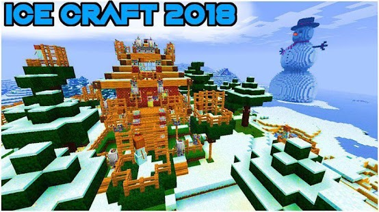 Ice craft winter crafting and building android free for Crafting and building app store