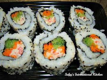California Rolls (Original Recipe by: Salpy's International Kitchen)