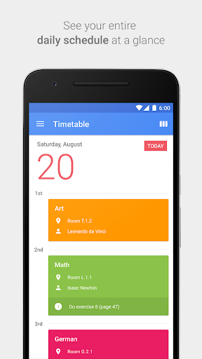 School Agenda app (apk) free download for Android/PC/Windows screenshot