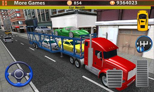 Transport Truck City Cargo