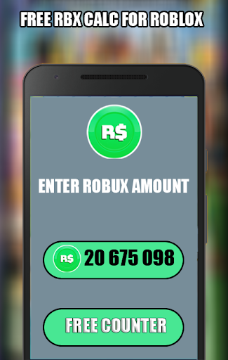 Free Robux Counter - 2020 Mod Apk Unlimited Android ...