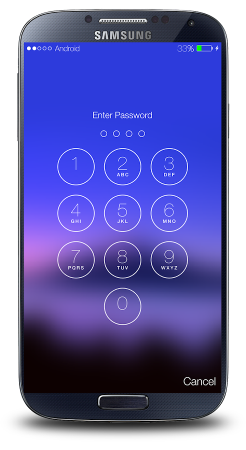 Screenshots of Password Screen Lock for iPhone