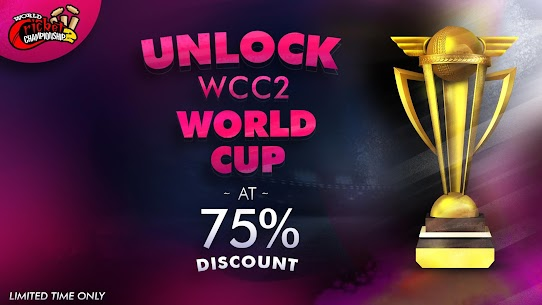 World Cricket Championship 2 MOD Apk (Unlimited Coins) 2