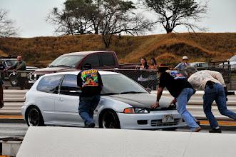 Photo: oops, broke da car!