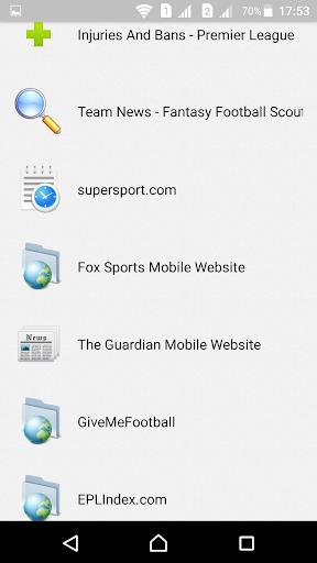 English Football Fantasy  screenshots 3