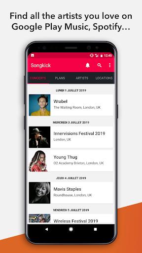Songkick Concerts 2.46 screenshots 1