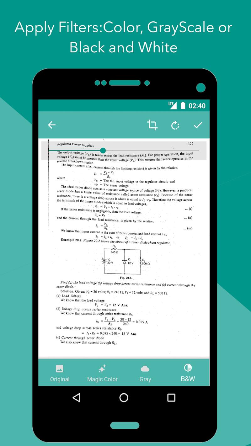 Smart Scan : PDF Scanner Screenshot 1