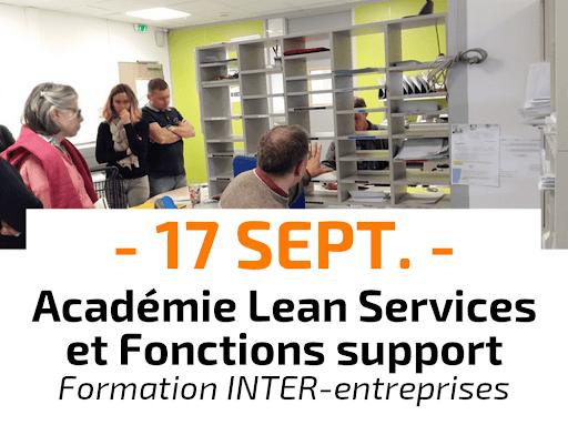 Académie Lean Office, Services et Fonctions support Formation Inter-entreprises CURSUS animée par Catherine Chabiron