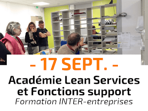 Académie Lean Office, Services et Fonctions support Formation Inter-entreprises CURSUS animée par Catherine Chabiron