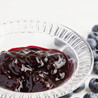 Blueberry Compote.