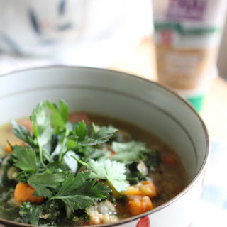 Thai Coconut Milk Lentil Vegetable Soup