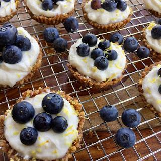 Blueberry-Lemon Tarts.