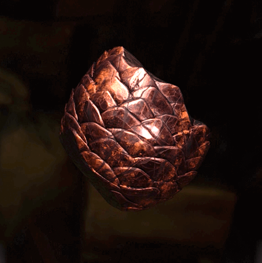 吸いつき石の塊
